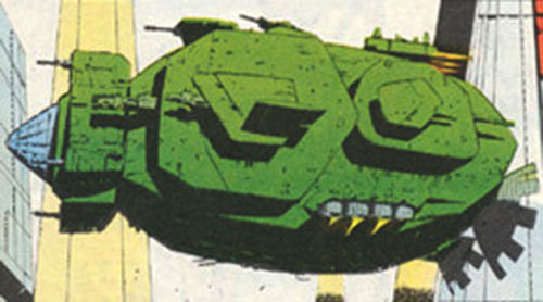 The Pig (Dragon's Claws vehicle) (Marvel Comics UK)