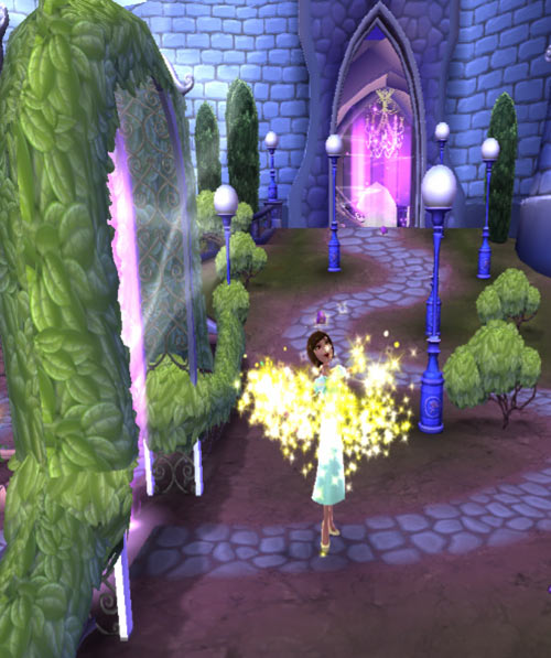 Disney Princess: My Fairytale Adventure screenshot sparkles twinkles