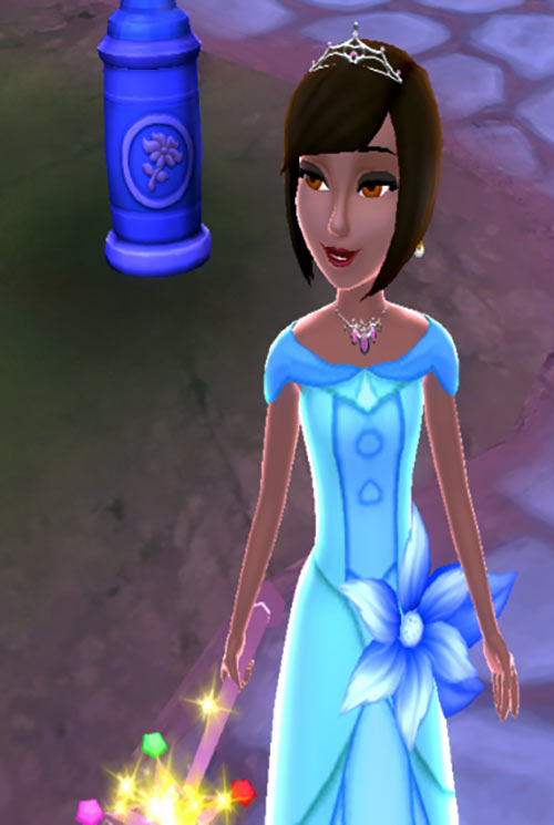 Disney Princess: My Fairytale Adventure screenshot heroine