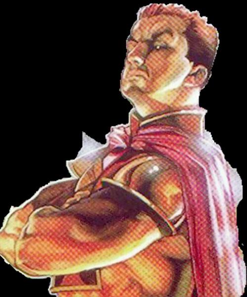 Divis Mal (Aberrant RPG character) color art