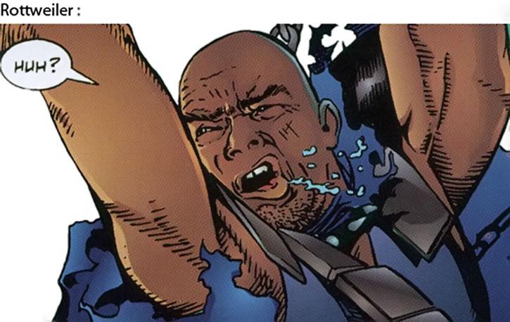 Doberman from the Strikeback! comics