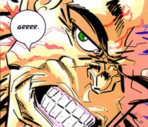 Doc Cancer (Capes) (Image Comics) face closeup