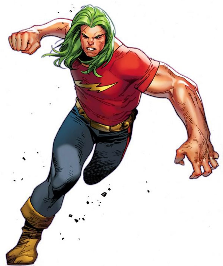 Doc Samson's classic costume by Olivier Coipel
