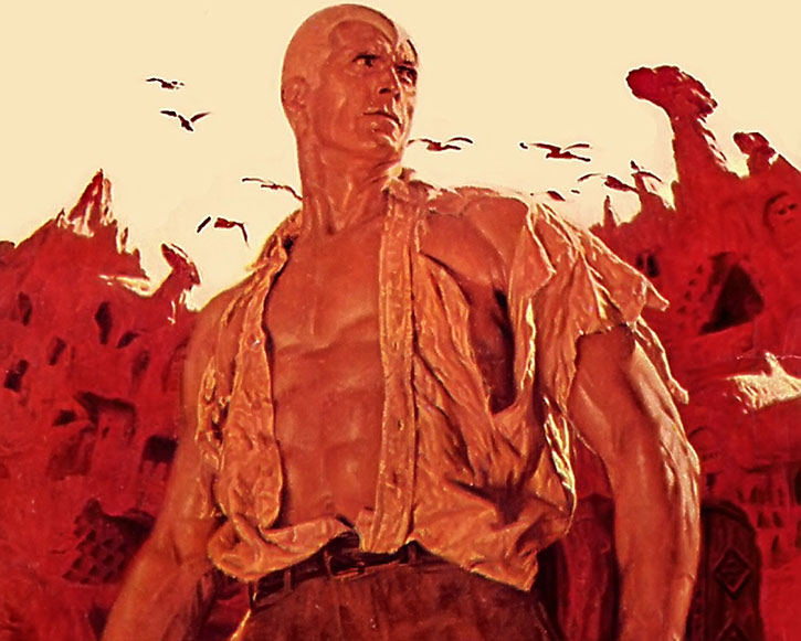 Doc Savage, the man of bronze