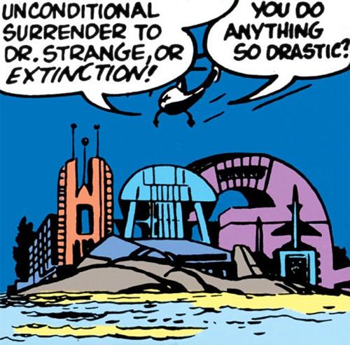 Doctor Carlo Strange (Marvel Comics) (Tales of Suspense) Kirby base