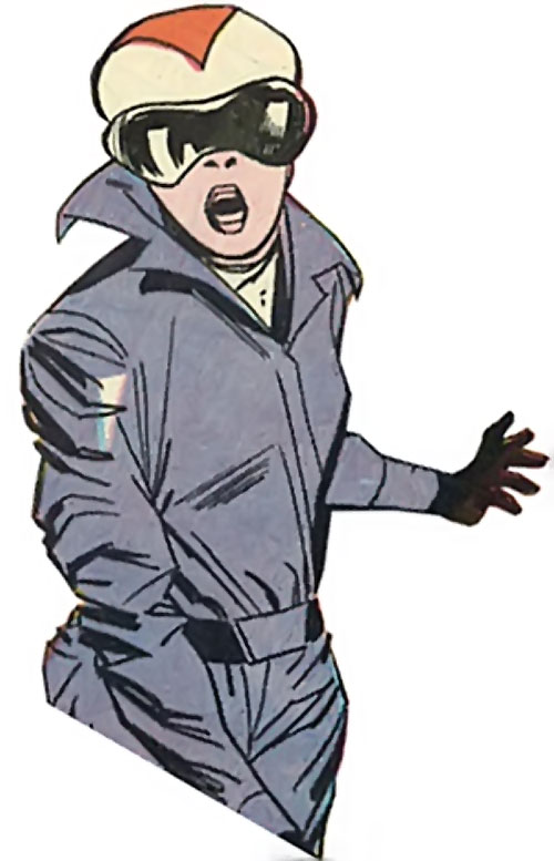 Doctor Cyber (Wonder Woman enemy) (DC Comics) - typical US henchwoman