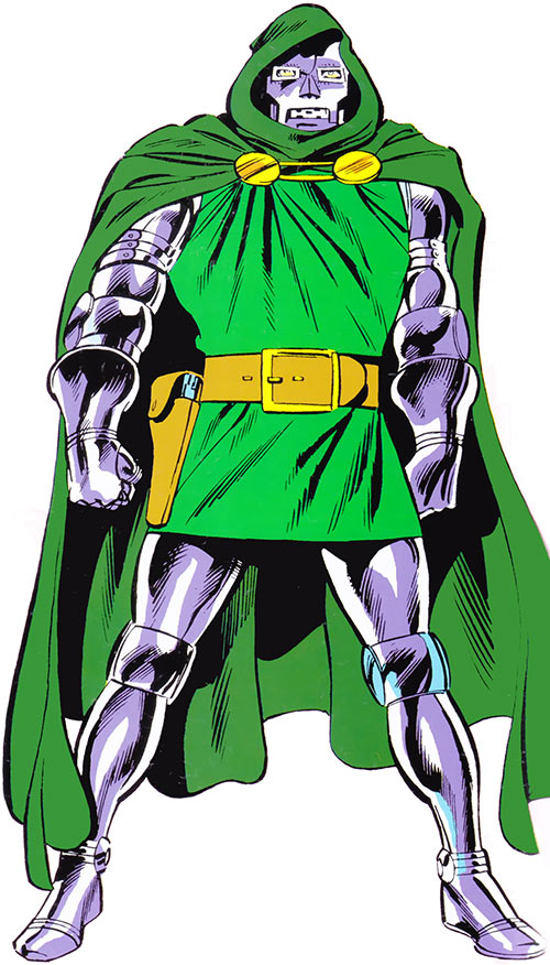 Doctor Doom (Fantastic 4 enemy) (Marvel Comics) classic 1980s picture
