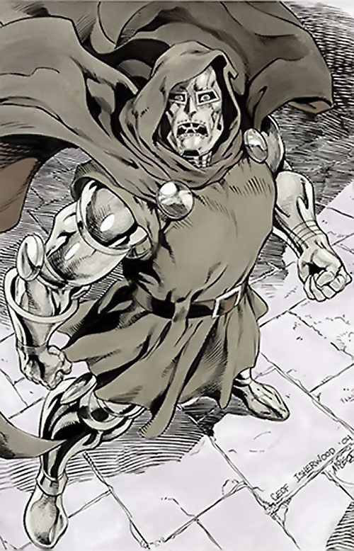 Doctor Doom (Fantastic 4 enemy) (Marvel Comics) by Geoff Isherwood