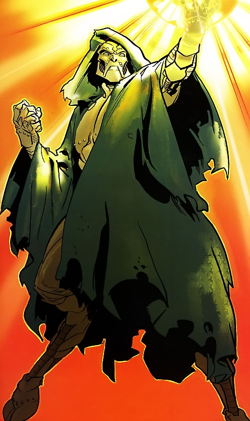 Ultimate Doctor Doom (Ultimate Marvel Comics) with goat legs