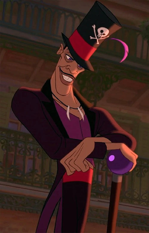 Doctor Facilier (Disney's Princess and the Frog) - With cane
