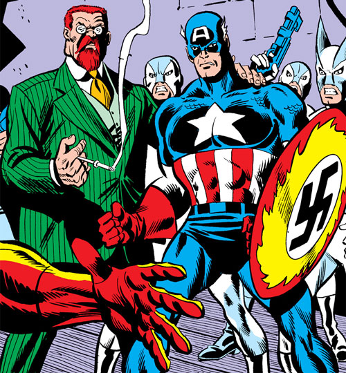 Doctor Faustus and the Nazi brainwashed Captain America
