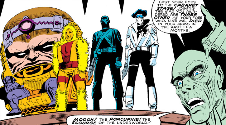 Doctor Faustus (Marvel Comics) (Profile #3) - LMDs and hologram