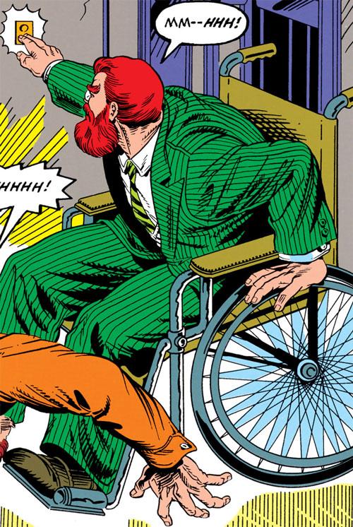 Doctor Faustus (Marvel Comics) (Profile #3) - wheelchair