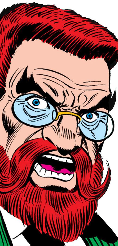 Doctor Faustus (Marvel Comics) face closeup