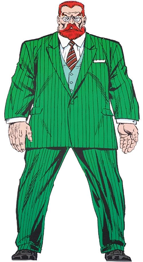 Doctor Faustus (Marvel Comics) master edition OHOTMU