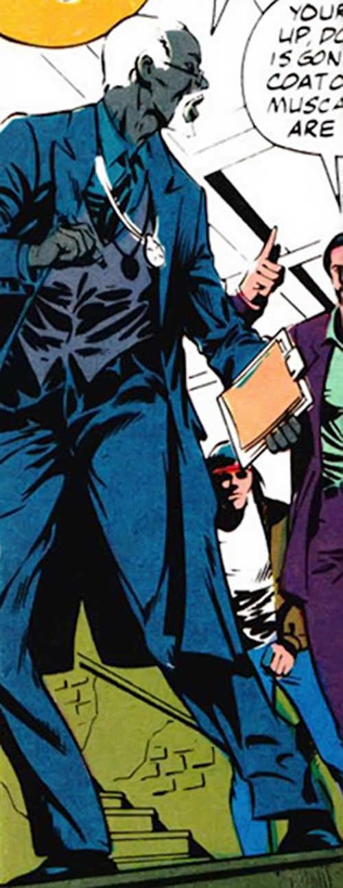 Doctor Friday (Moon Knight enemy) (Marvel Comics)