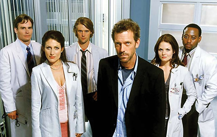 Doctor House and fellow physicians