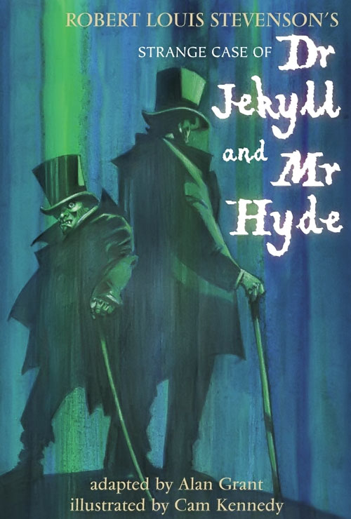 Doctor Jekyll and Mister Hyde - comic book adaptation cover