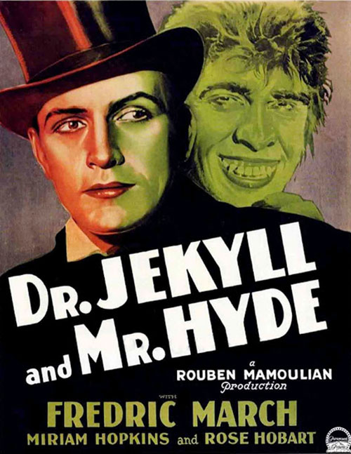 Doctor Jekyll and Mister Hyde - poster Fredric March version