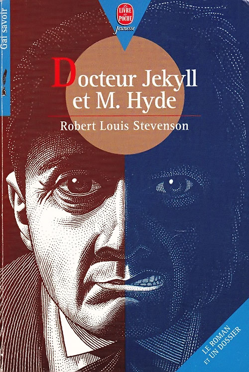 Doctor Jekyll and Mister Hyde - novel cover in French