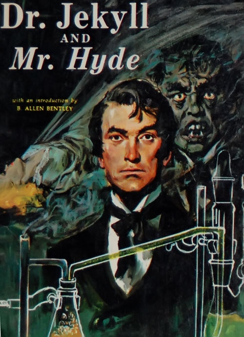 Doctor Jekyll and Mister Hyde - novel cover