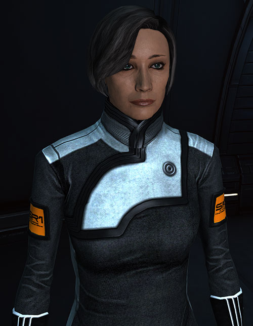 Dr. Chakwas (Mass Effect) high resolution portrait
