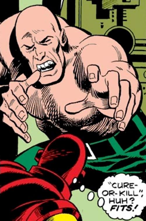 Quasar the Future Man (Iron Man enemy) (Marvel Comics)