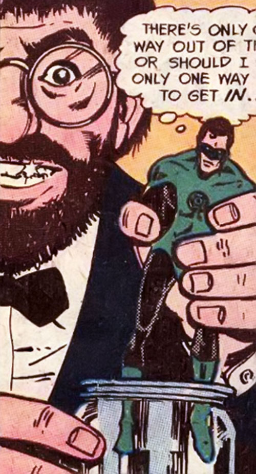 Doctor Live (Hostess Comics) and Green Lantern