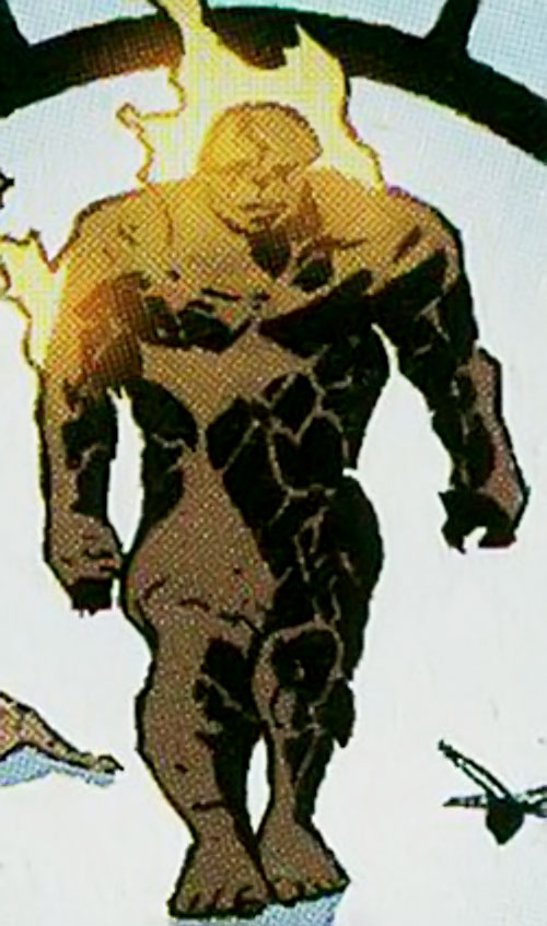 Doctor Midas (Marvel Boy enemy) (Marvel Comics) as a cosmic man