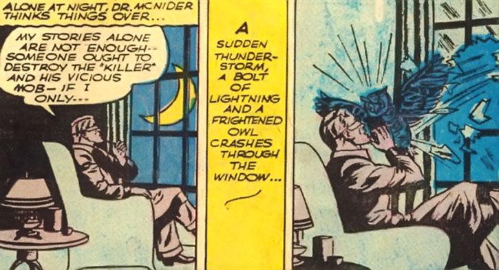 Doctor Mid Nite has his Batman moment