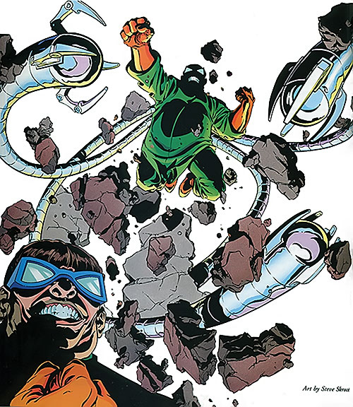 Doctor Octopus (Spider-Man enemy) by Steve Skroce