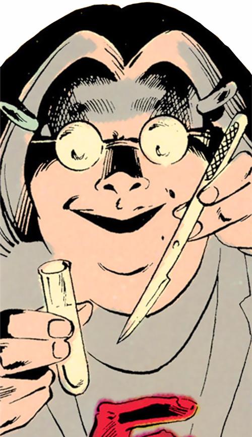 Madame Ovary (Outsiders character) (DC Comics) (Doctor Ovarni)