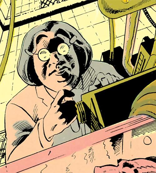 Madame Ovary (Outsiders character) (DC Comics) (Doctor Ovarni) working