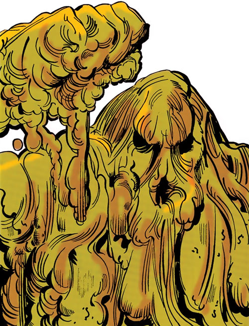 Doctor Pendergast (DC Comics / Supergirl), monstrous Decay form, head