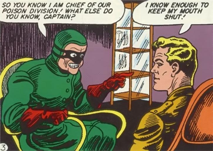 Doctor Poison and Steve Trevor