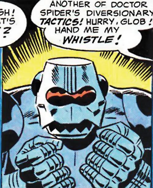 Doctor Spider (Sandman enemy) (DC Comics Kirby) robot guardian