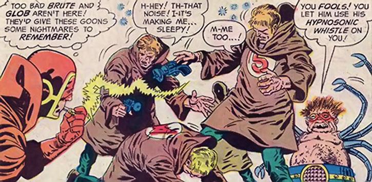 Doctor Spider vs. the Sandman