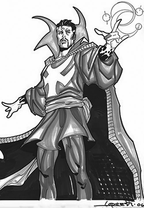 Doctor Strange (Marvel Comics) sketch by Lopresti