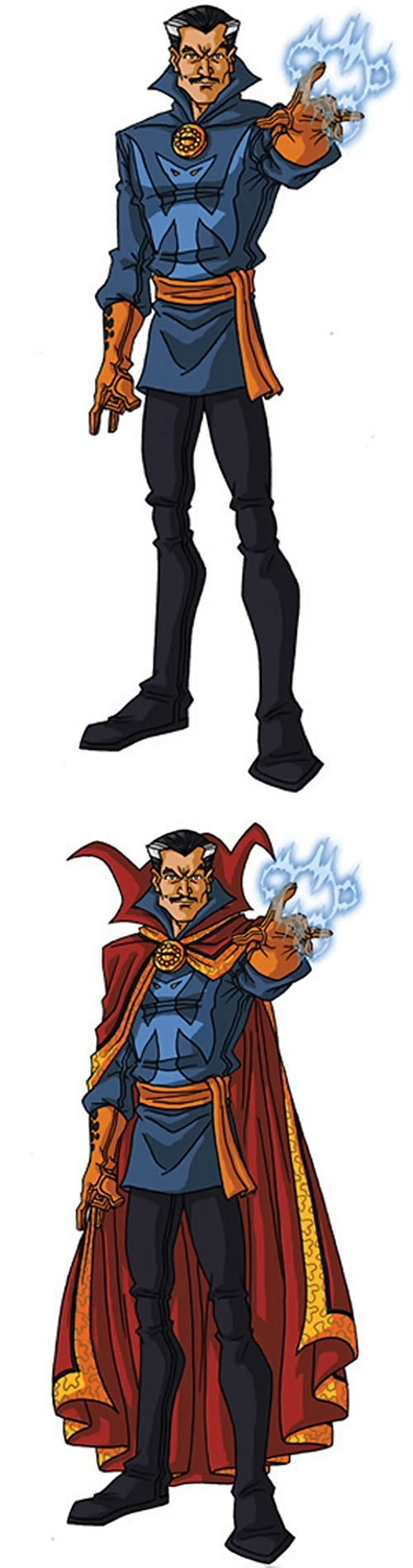 Doctor Strange (Marvel Comics) by RonnieThunderbolts