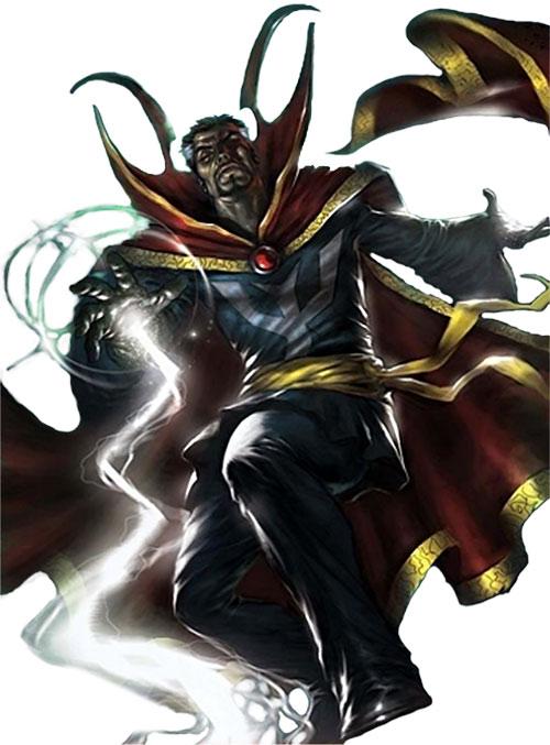 Doctor Strange (Marvel Comics) casting a spell