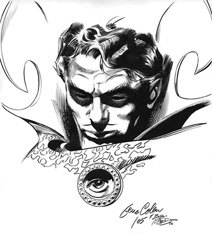 Doctor Strange by Gene Colan (sketch)