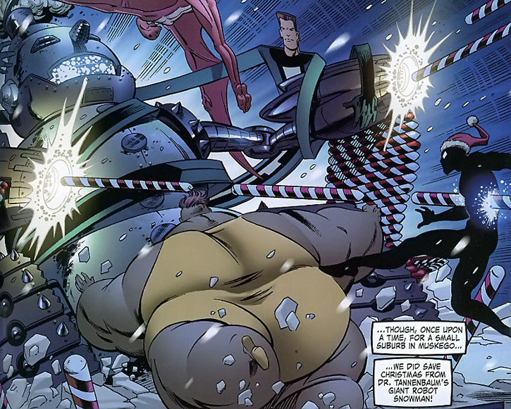 The Great Lakes Avengers vs. Doctor Tannenbaum
