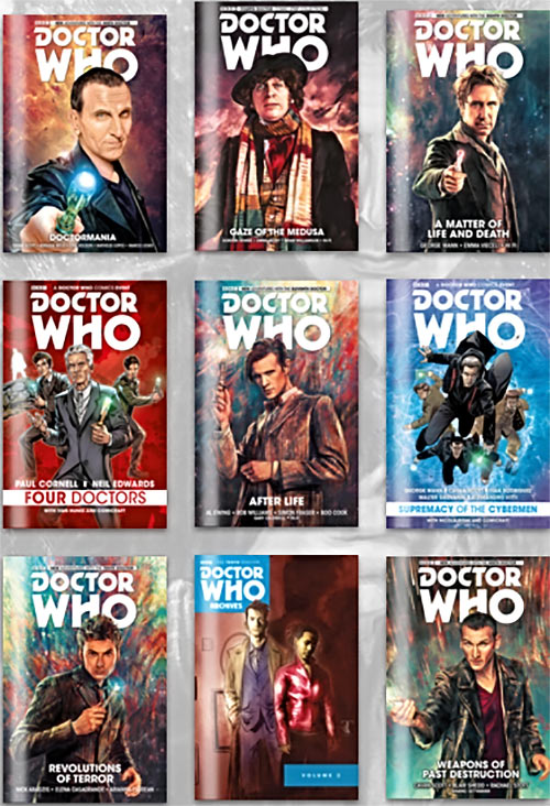 Doctor Who digital comics Humble Bundle