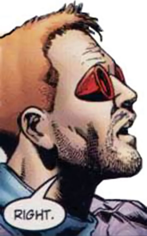 The Doctor of the Authority (Wildstorm Comics) face closeup