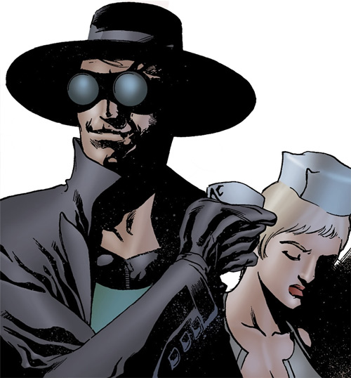 Doktor Sleepless (Ellis Avatar Comics) and Nurse Igor