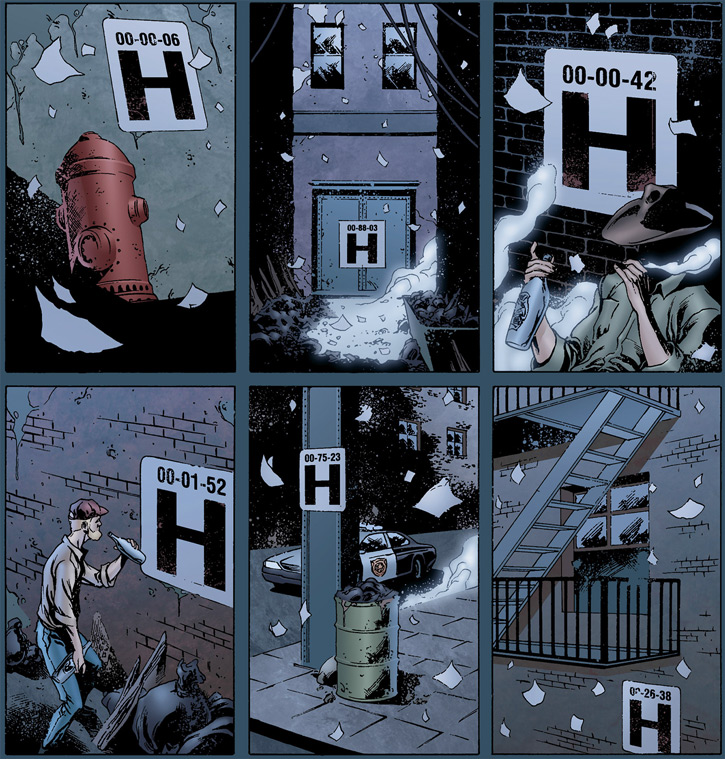 Doktor Sleepless (Ellis Avatar Comics) shelter entrances