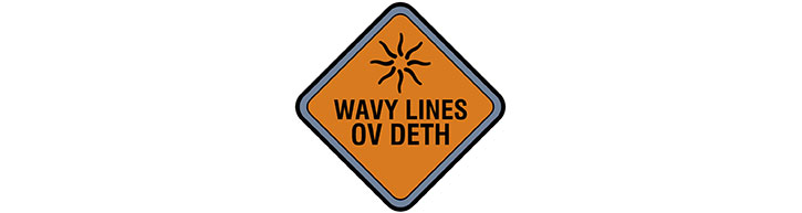 Doktor Sleepless sign - wavy lines of deth