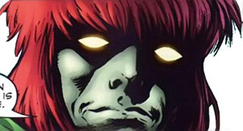 Dominic Destine of Clan Destine (Marvel Comics) face closeup