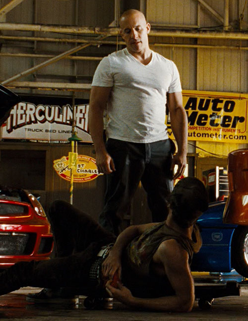 Dominic Toretto (Vin Diesel in Fast and Furious)