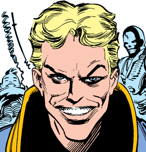 Donald Pierce (Marvel Comics) (White Bishop / King) manic grin
